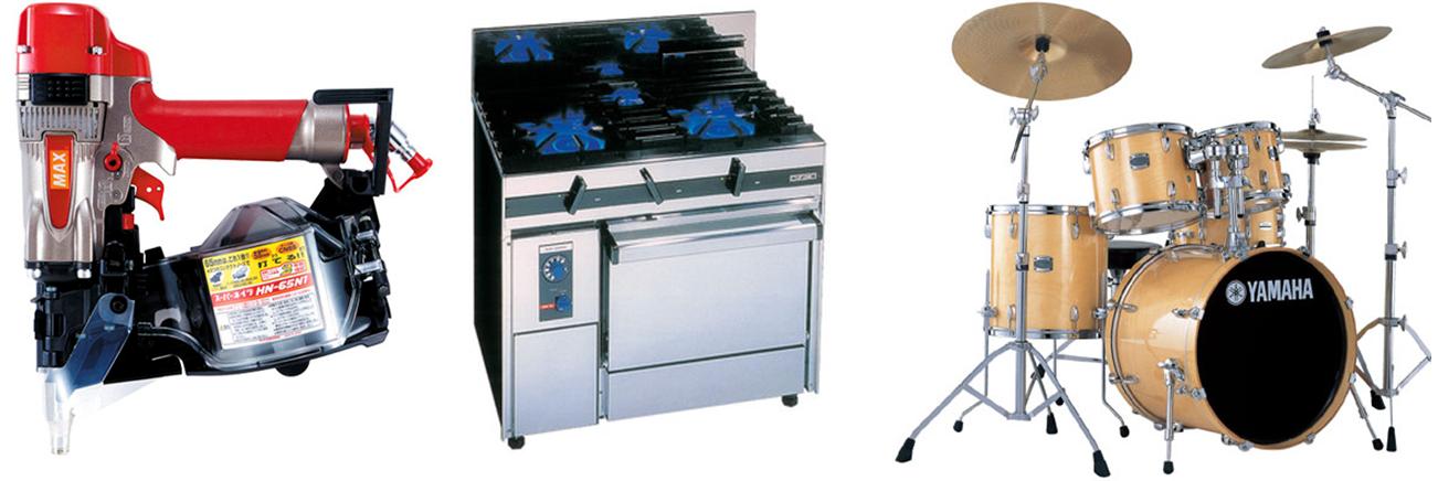 買取画像 電動工具 厨房機器 楽器