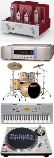 楽器・オーディオの画像 真空管アンプ プレーヤー ドラムセット キーボード ターンテーブル