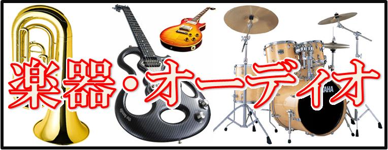 楽器、オーディオ